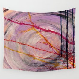 Misty Cave Wall Tapestry