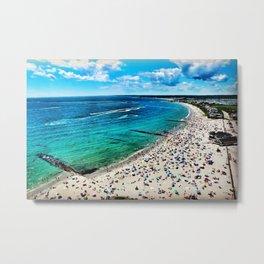 Sand Hill Cove Beach - Narragansett, Galilee, Rhode Island Metal Print