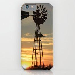 Kansas Country Sunset iPhone Case