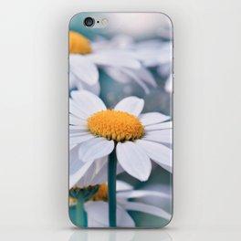 Marguerite blue 032 iPhone Skin