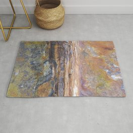 Old Rusted Anchor rustic decor Rug