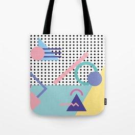 Memphis Pattern 5 - 80s - 90s - Retro Tote Bag