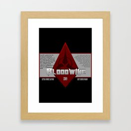 Fictional Brew - Bloodwine Framed Art Print