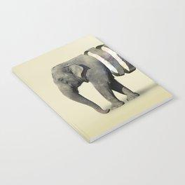 Inner Space Elephant Notebook