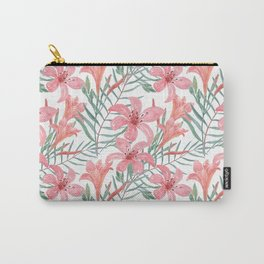 Pink lilies. Carry-All Pouch