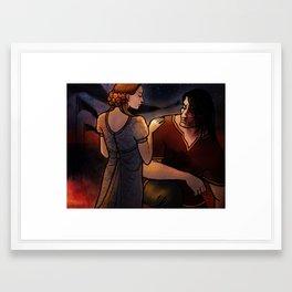 No True Knight Framed Art Print