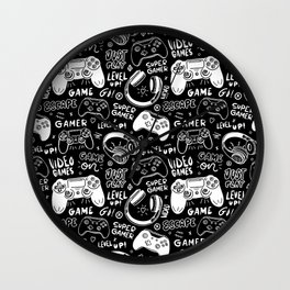 Game on#2 Wall Clock