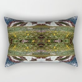 Above Treeline Rectangular Pillow
