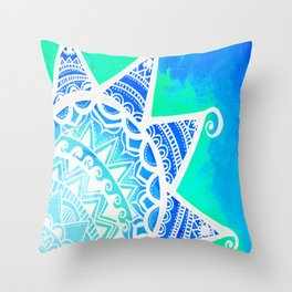 Turquoise Dream Throw Pillow