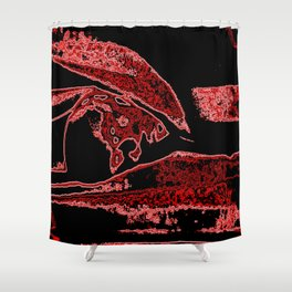 Scary Selphie the Second Shower Curtain