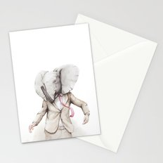 Elephant Dance Stationery Cards