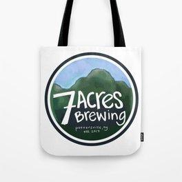 7 Acres Brewing Badge Tote Bag