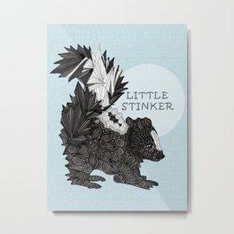 Little Stinker -blue- Metal Print