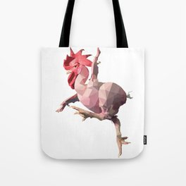 Naked Chicken (Low Poly Design) Tote Bag