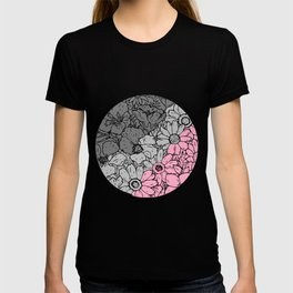Demigirl flowers T-shirt