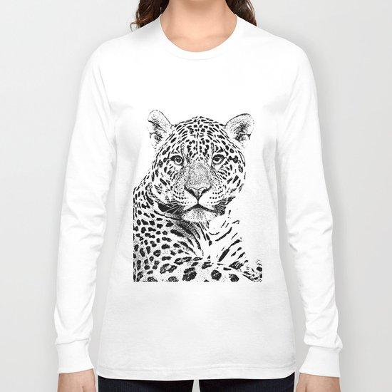 Cheetah Sketch Long Sleeve T-shirt