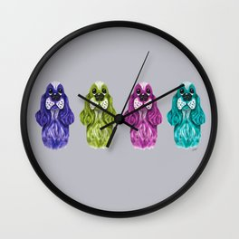 Coat of Many Colors Wall Clock