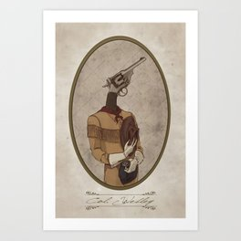 Col. Webley Art Print
