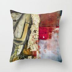 Sundays Throw Pillow