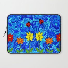 Blue Sky Summers Day Laptop Sleeve