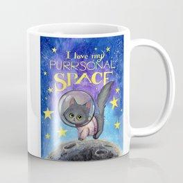 Purrsonal Space Coffee Mug