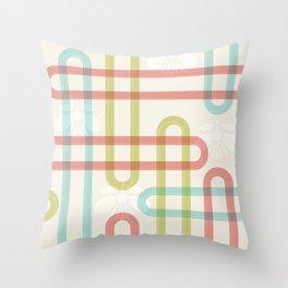 Japanese Pattern: Summer Throw Pillow