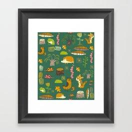 Hedgies Framed Art Print