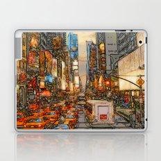 Busy Sunset Laptop & iPad Skin