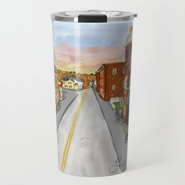 Mainstreet Brunswick, MD Travel Mug