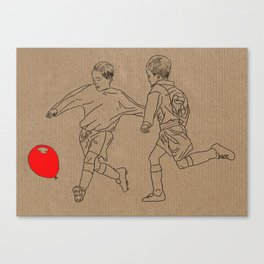 Footbal-oon Canvas Print