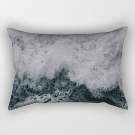 Stormy Seas III Rectangular Pillow