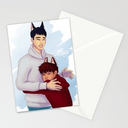 Wolf Kaisoo Stationery Cards
