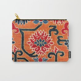 Shigatse South Tibetan Jabuye Rug Print Carry-All Pouch