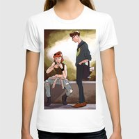 dana scully T-shirts featuring Hey Scully... by Jena Young