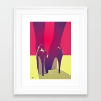 shoes Framed Art Prints featuring Shoes by Giuseppe Cristiano