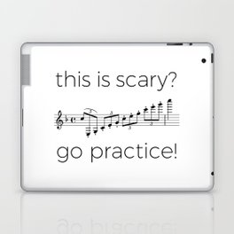 Go practice - clarinet Laptop & iPad Skin
