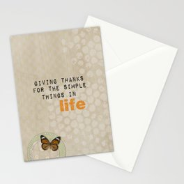 Giving Thanks Stationery Cards