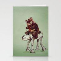 ewok Stationery Cards featuring Star Wars Buddies 2 by lev man