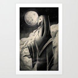SOMA, MOON Art Print