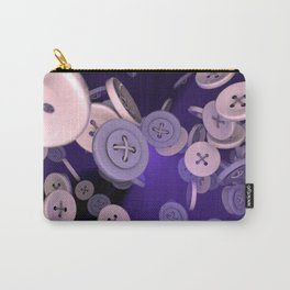 Raining Buttons Carry-All Pouch