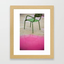 La Chaise Framed Art Print