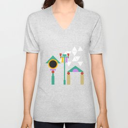 The Midway of Life Unisex V-Neck