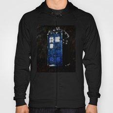 8 Bit Pixelated Tardis Doctor Who Hoody