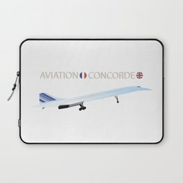 Concorde Turbojet-powered Supersonic Airliner Laptop Sleeve