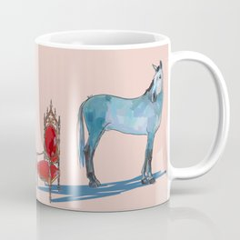 animals with chairs #1 The argument Coffee Mug