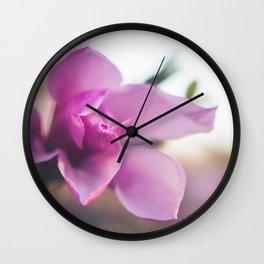 The Magnolia Blooms Wall Clock
