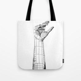 Planar Hand Tote Bag