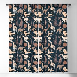 Whippet Good! Blackout Curtain