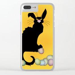 Le Chat Noir - Easter Clear iPhone Case