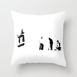 and also with you Throw Pillow